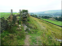 SE0813 : Stile on the Colne Valley Circular Walk by Humphrey Bolton