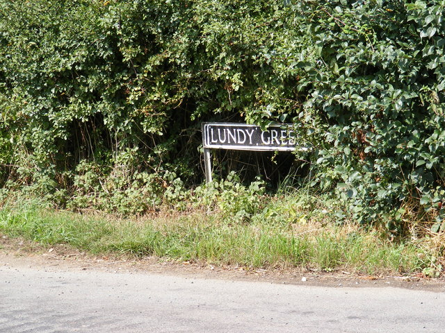 Lundy Green sign