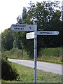 TM2591 : Roadsign on Barford Road by Adrian Cable