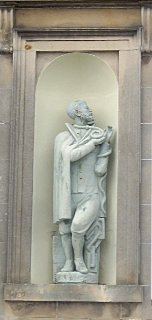 Wall mounted sculpture at St Thomas RC Church, Keith
