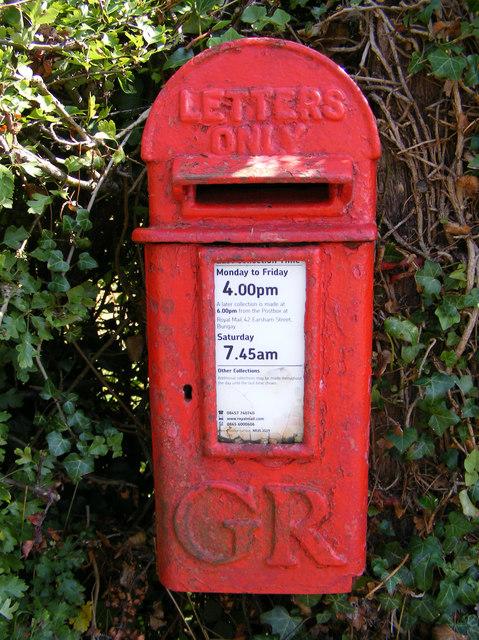 The Corner George V Postbox