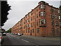 NS5067 : A tenement block on Paisley Road by Ian S