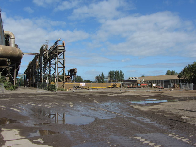 Scrapping of the Old Scrap Bay by Gareth James