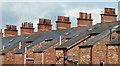 J3271 : Edwardian chimneys, Belfast by Albert Bridge