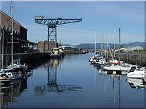 NS2975 : James Watt Dock marina by Thomas Nugent