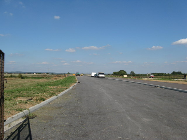 New road under construction off the A29
