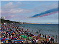 SZ0890 : Bournemouth: end of the Red Arrows display by Chris Downer