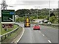 TQ7560 : A229 near Tyland Barn by David Dixon