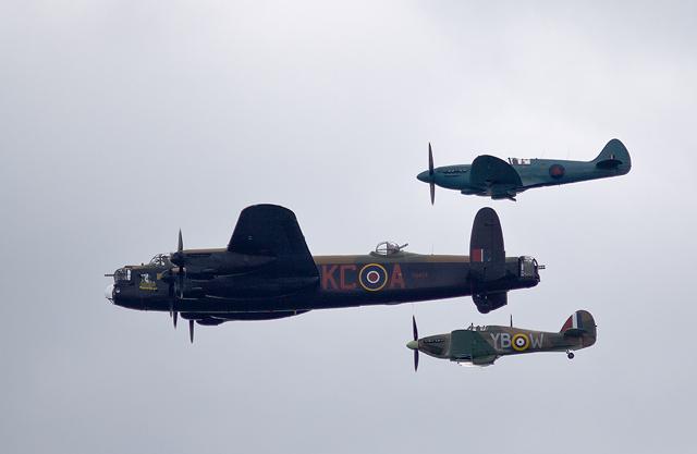 Bournemouth Air Festival 2013: RAF Battle of Britain Memorial Flight