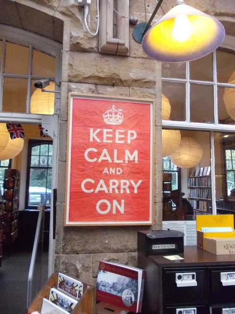 """""""Keep Calm and Carry On"""", Alnwick"""