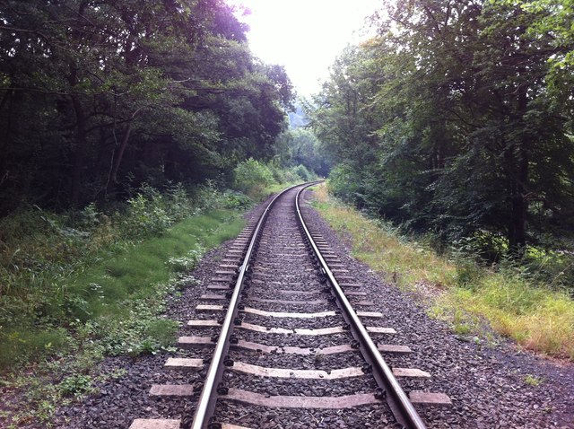 Severn Valley Railway at Trimley Reservoir