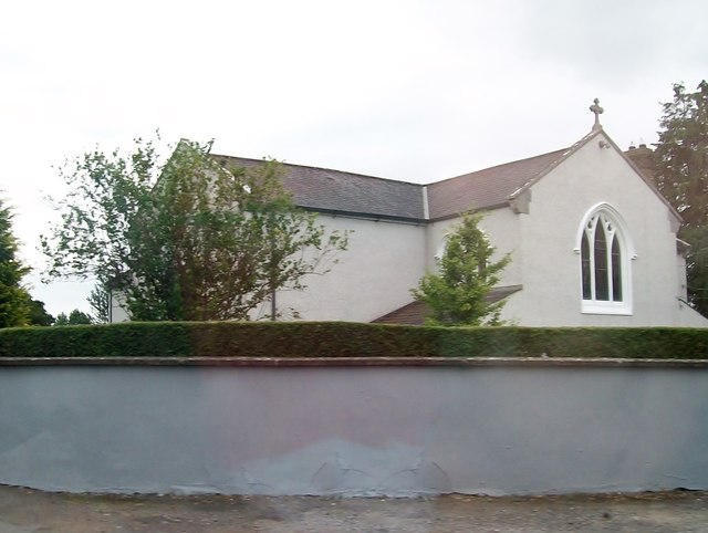 The rear of St Mary's Chapel, Moynalty