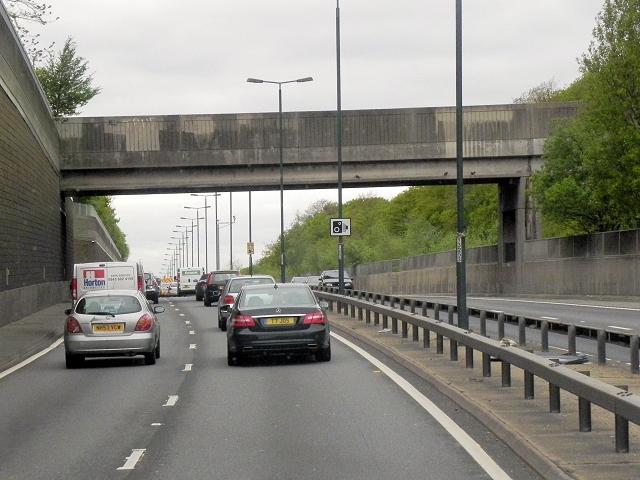 A2, Footbridge at Eltham