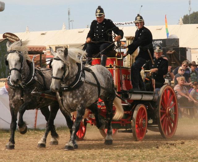 Great Dorset Steam Fair - fire fire!