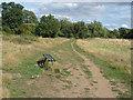 SU8460 : Bench, Shepherd Meadows Nature Park by Alan Hunt