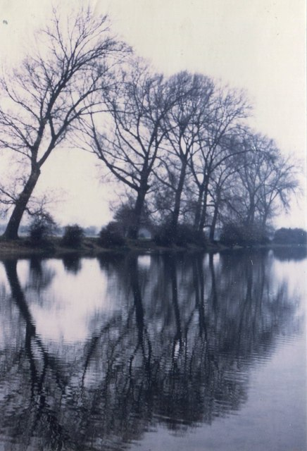 River Thames, Port Meadow, Oxford, 1983