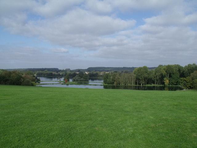 Great Lake at Castle Howard