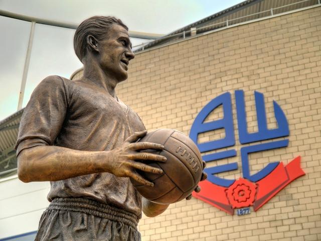 Nat Lofthouse Statue, Bolton Wanderers FC