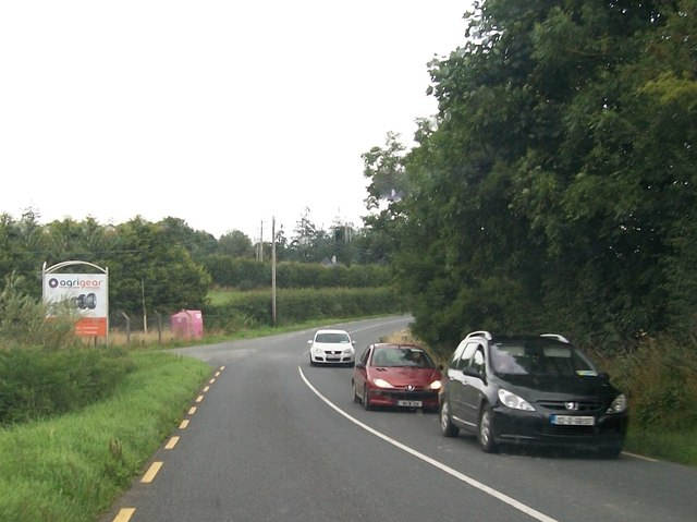 Bend in the R191 in the Townland of Relagh More, Co Cavan