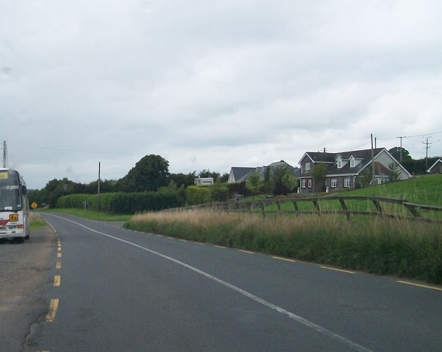 New houses on the R191 just north of the Cavan-Meath county border