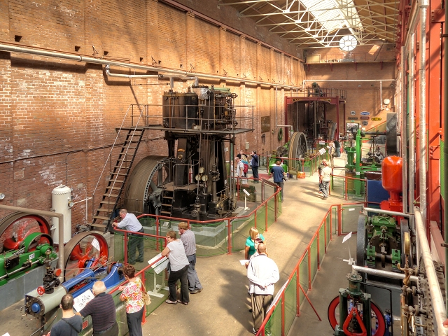 Steam Day at Bolton Steam Museum