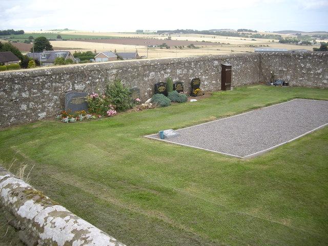 Graveyard extension, St Cyrus