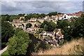 SE3456 : View from Knaresborough Castle by Graham Hogg