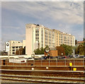 SU7173 : Reading Bridge development, George St, Reading by Christopher Hilton