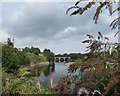 NT8440 : View to Coldstream Bridge over The River Tweed by Neil Theasby