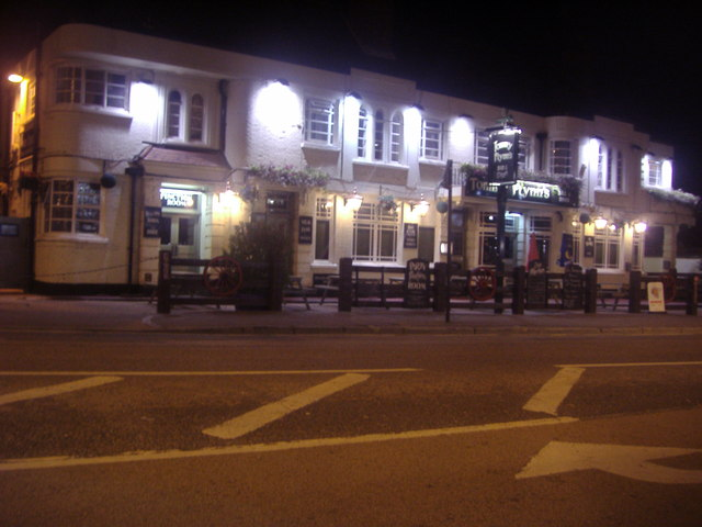 Tommy Flynn's pub on Ealing Road, Alperton
