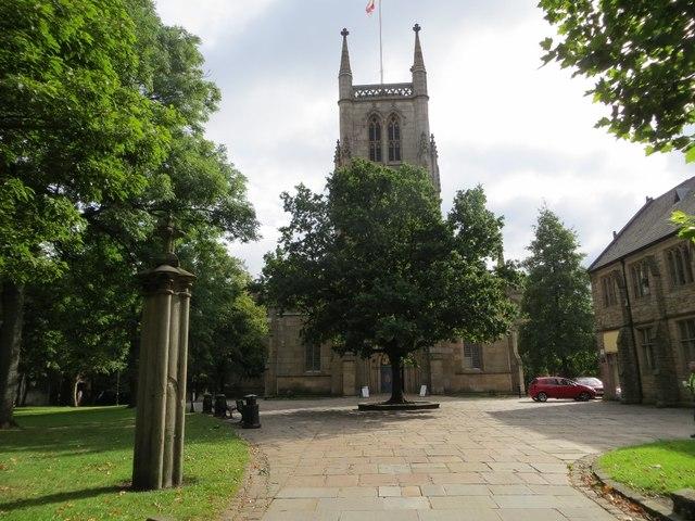 Blackburn Cathedral, west gateway