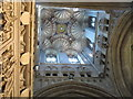 TR1557 : Inside view of Canterbury Cathedral tower by David Hawgood