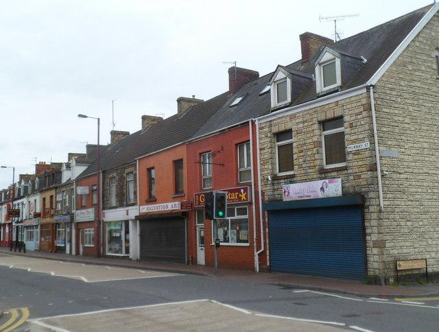 Murray Street shops, Llanelli