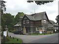 NY3601 : Mock Tudor house by the Hawkshead road by Karl and Ali