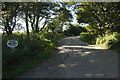 SW3925 : Access to Higher Alsia Farm by Elizabeth Scott