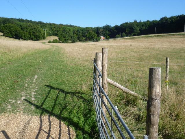 Valley near Woodsdale Farm