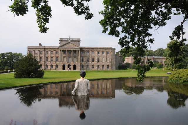 Mr Darcy and Lyme Park