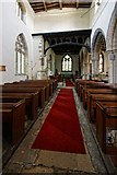 TF0927 : Interior of the Church of St Andrew, Rippingale by Dave Hitchborne