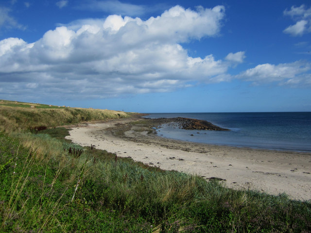 The beach at Low Newton-by-the-Sea