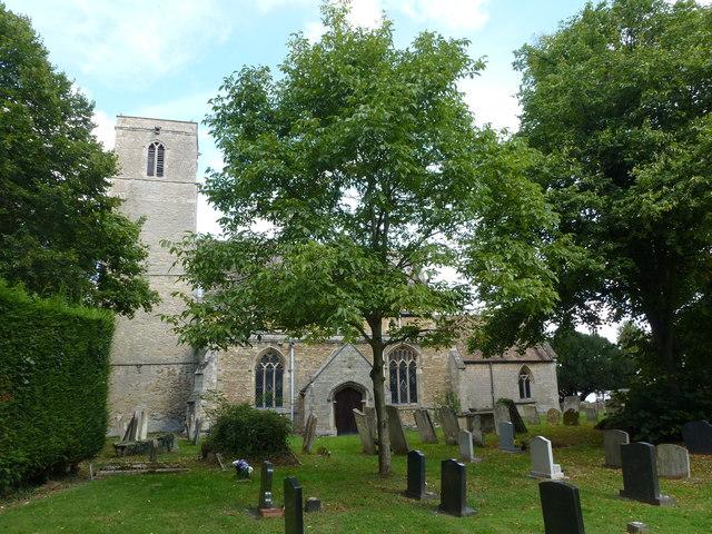 Church and graveyard in Stilton