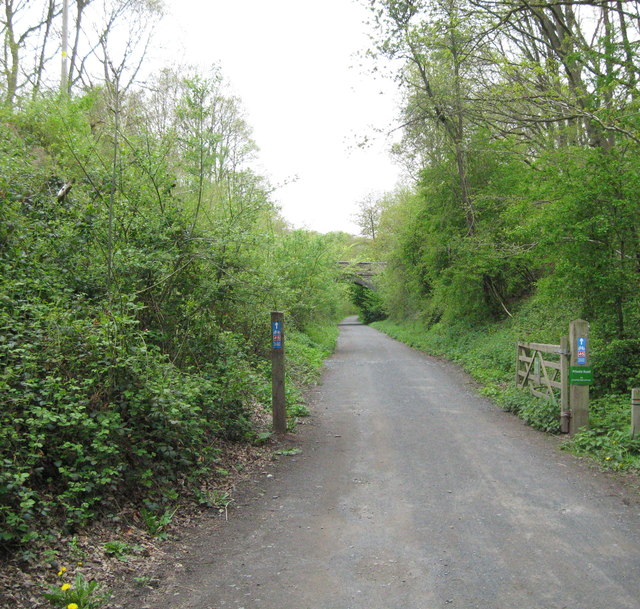 No cars from here on-Wyre Forest, Worcs