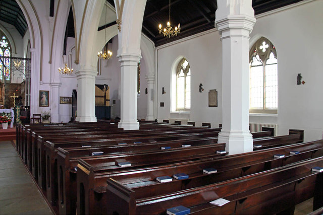 St John the Evangelist, Putney - South arcade