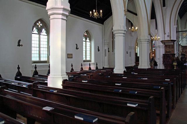 St John the Evangelist, Putney - North arcade