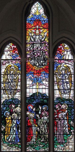 St John the Evangelist, Putney - Stained glass window