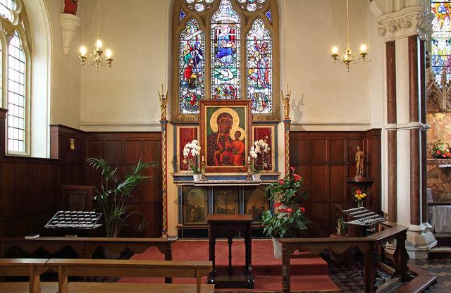 St John the Evangelist, Putney - Lady chapel