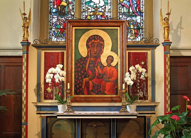 St John the Evangelist, Putney - Reredos