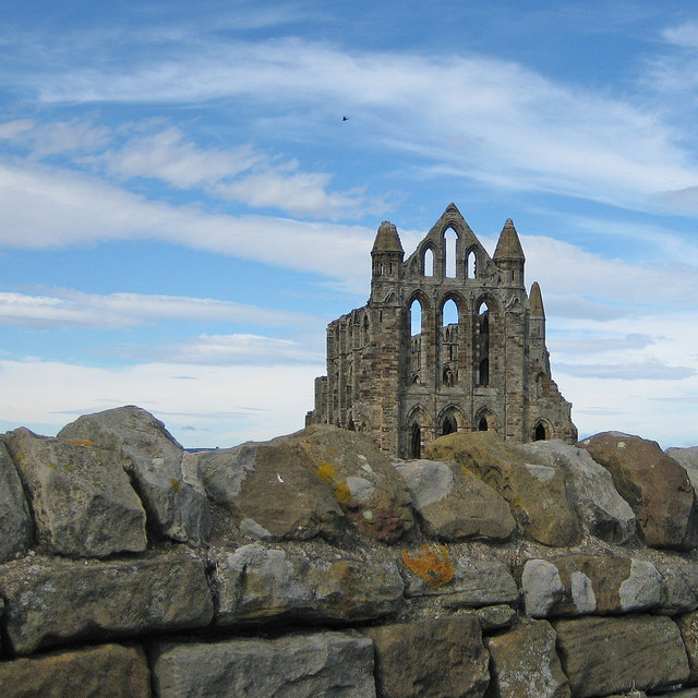 Old stones, Whitby Abbey