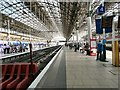 SJ8497 : Manchester Piccadilly Platform 4 by Gerald England