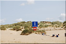 TQ9618 : Meeting point I, Camber Sands by N Chadwick