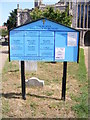 TM3389 : Bungay Churches Notice Board by Adrian Cable
